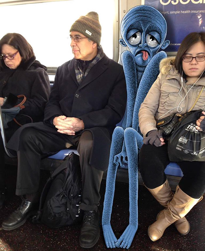 monstruos del metro de New York 7