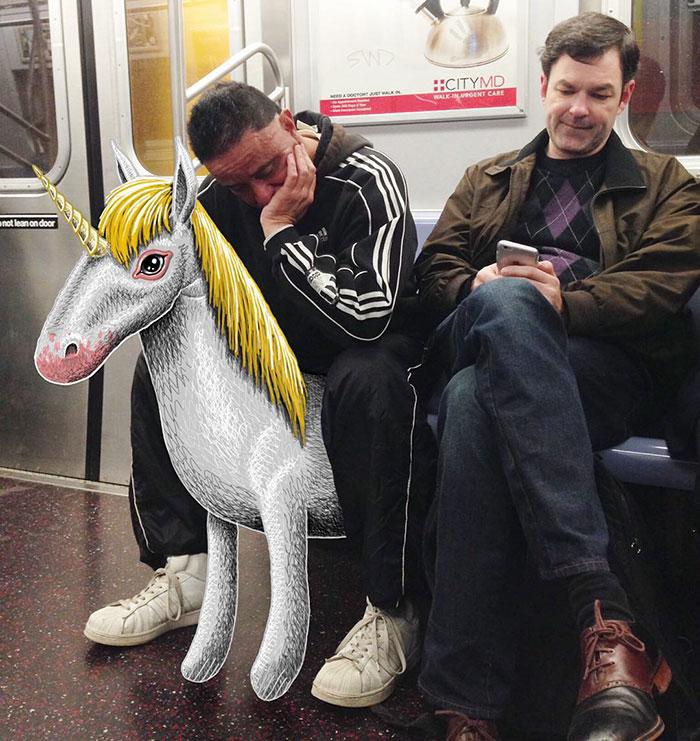 monstruos del metro de New York 8