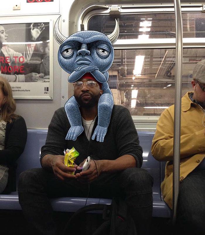 monstruos del metro de New York 9