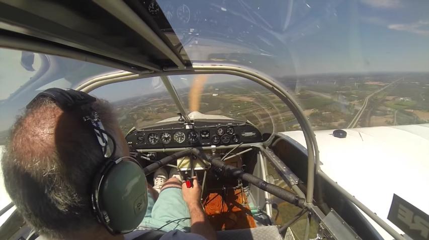 pierde la helice del aeroplano y logra aterrizar sin problemas