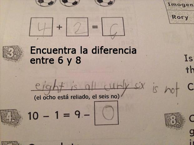 respuestas graciosas de niños a los deberes de clase2