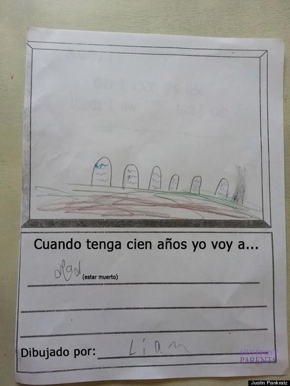 respuestas graciosas de niños a los deberes de clase8