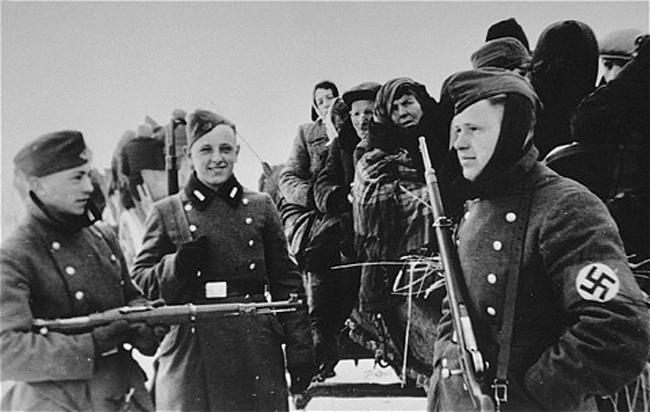 Deportación de judíos del ghetto de Zychlin al campo de Chelmno, marzo 1942 (Fuente: ushmm.org)