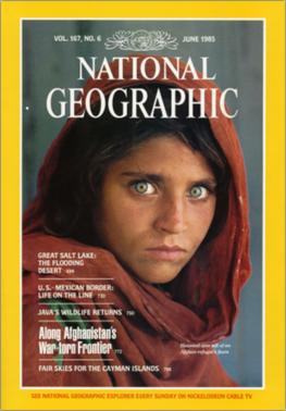 Afghan girl National_Geographic