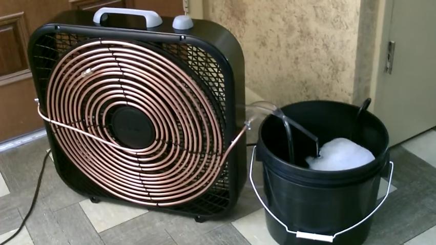 aire acondicionad hecho en casa diy 1