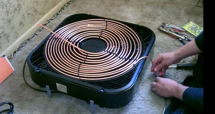 aire acondicionad hecho en casa diy 5