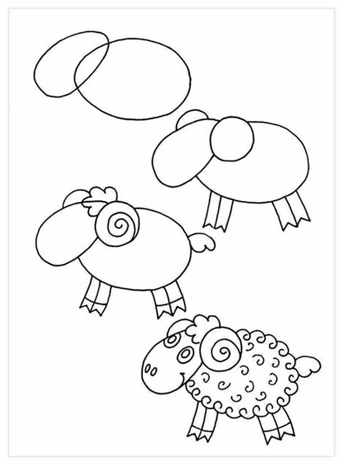 15 Dibujos A Lapiz Que Son Muy Faciles Para Dibujar Con Los Ninos