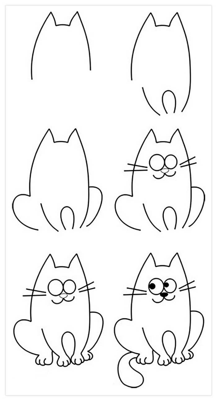 15 dibujos a l piz que son muy f ciles para dibujar con - Dibujos de halloween faciles ...