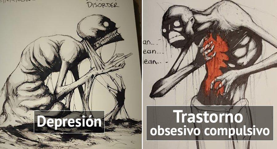 Resultado de imagen para imagenes enfermedades mentales