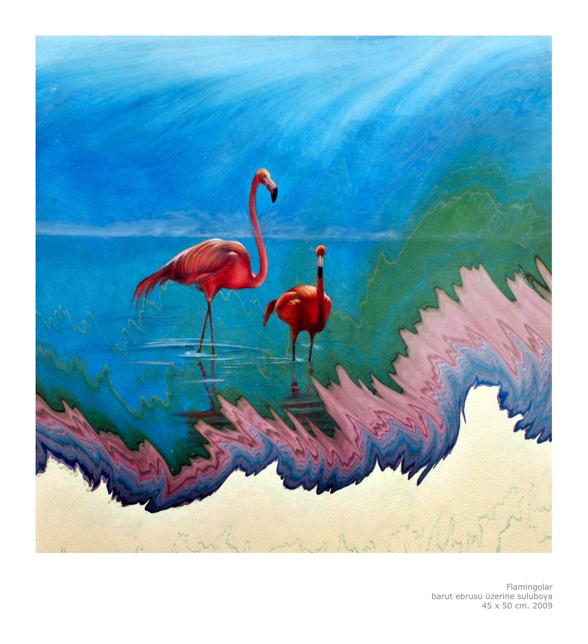 garip ay flamingo