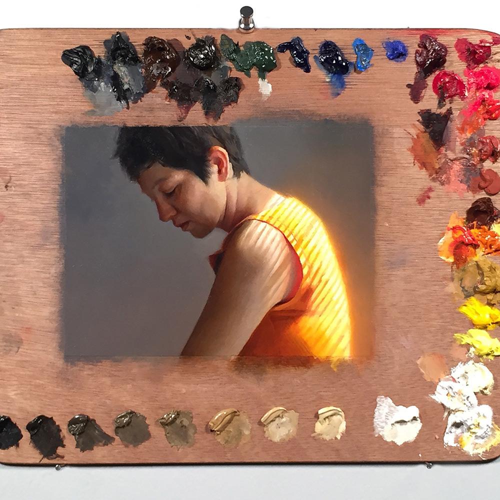 pinturas en paletas de pintura 5