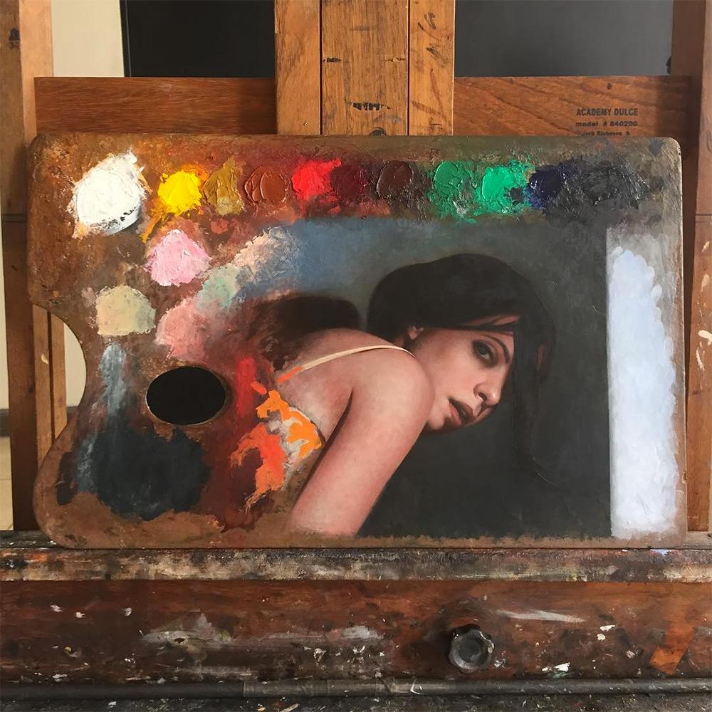 pinturas en paletas de pintura 7
