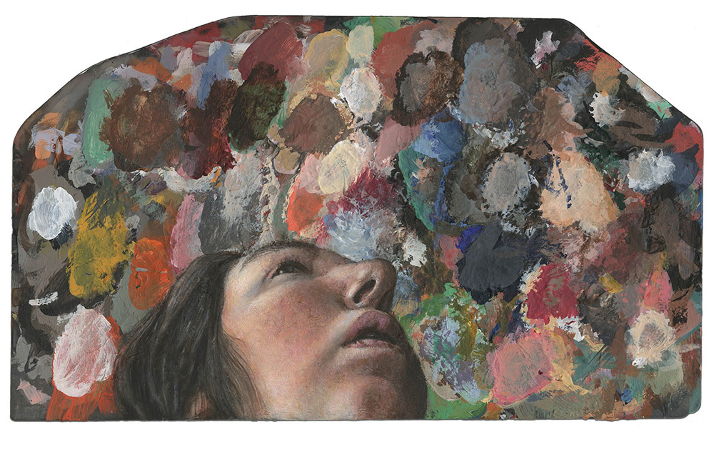 pinturas en paletas de pintura 8