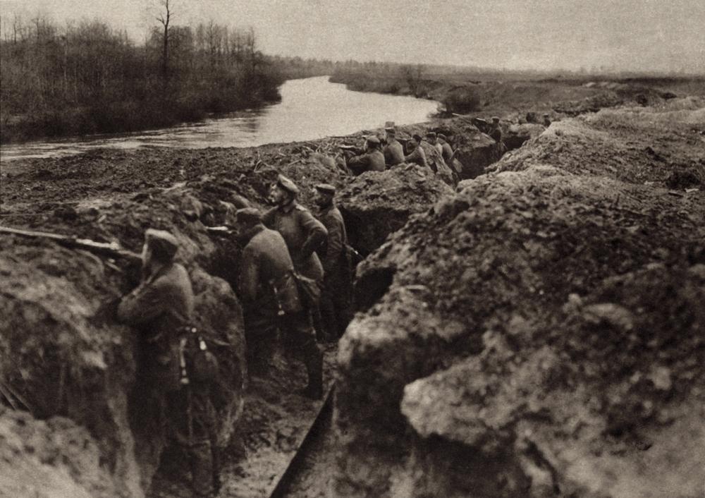 Soldados alemanes en la I Guerra Mundial
