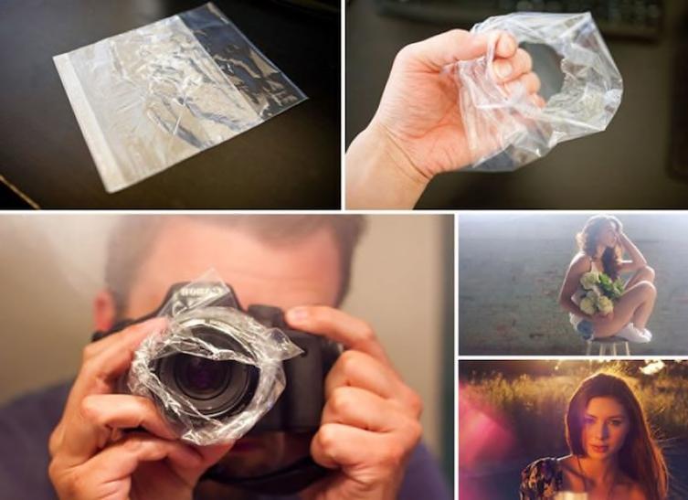 15 trucos con film de plastico 10