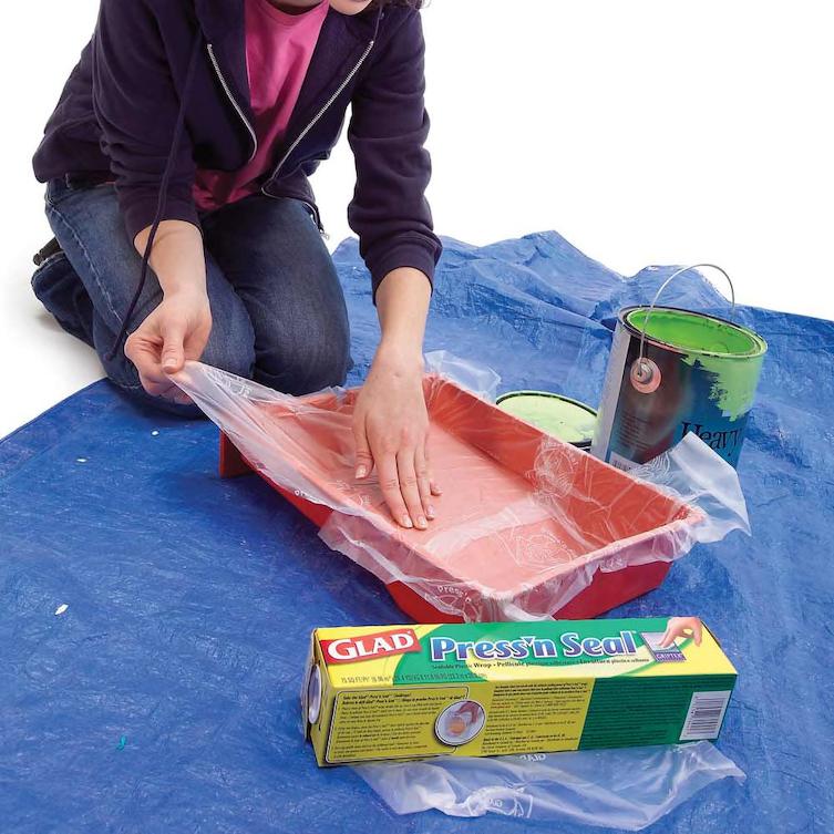 15 trucos con film de plastico 5