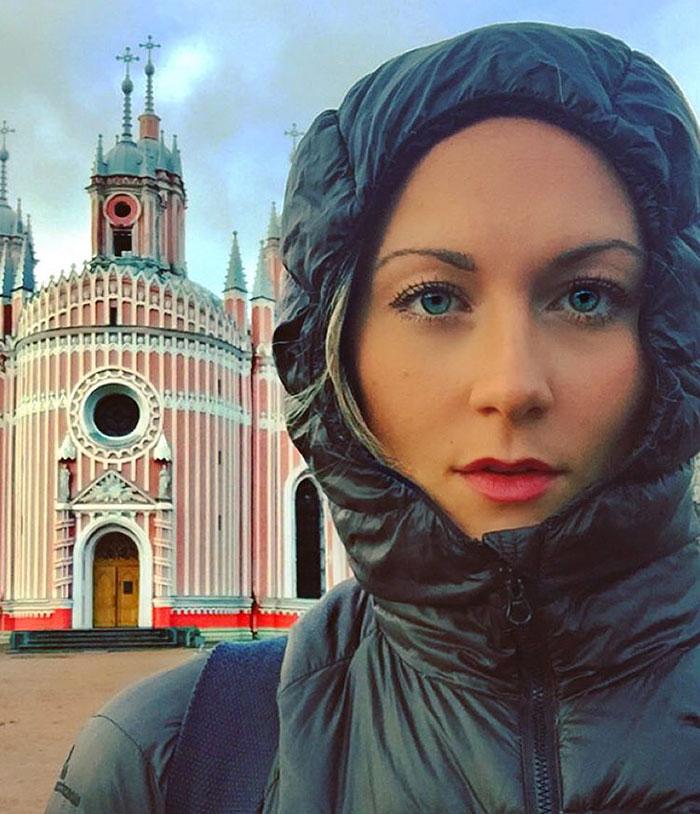 Cassandra de Pecol primera mujer en visitar todos los paises del mundo 1