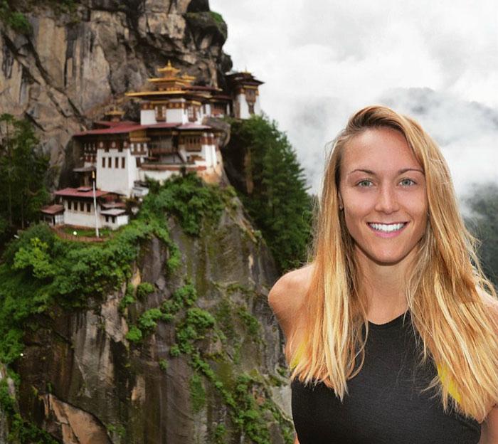 Cassandra de Pecol primera mujer en visitar todos los paises del mundo 3