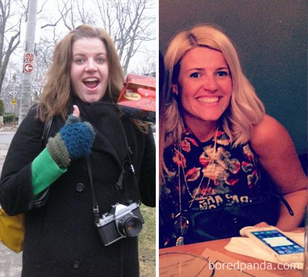 antes y despues de gente que dejo de beber alcohol