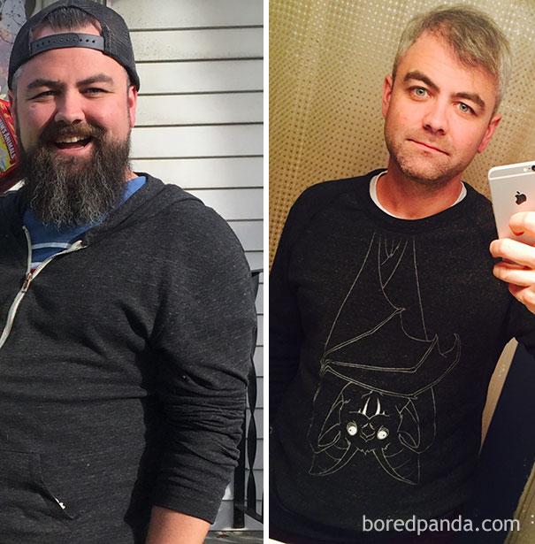 antes y despues de gente que dejo de beber alcohol 1