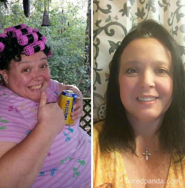 antes y despues de gente que dejo de beber alcohol 10