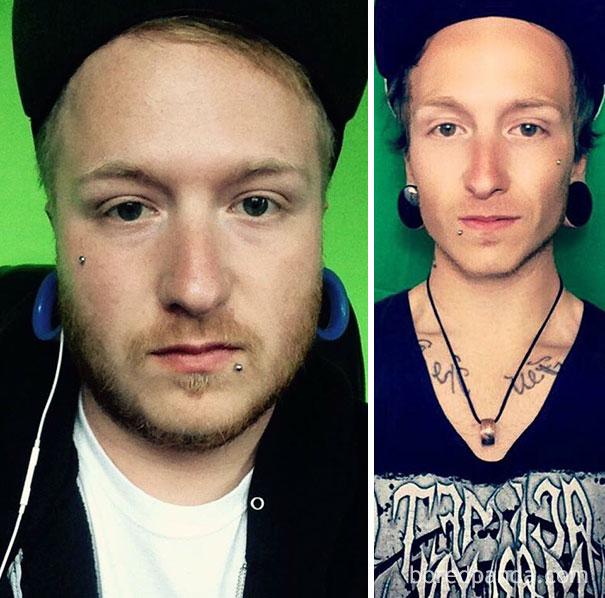 antes y despues de gente que dejo de beber alcohol 16