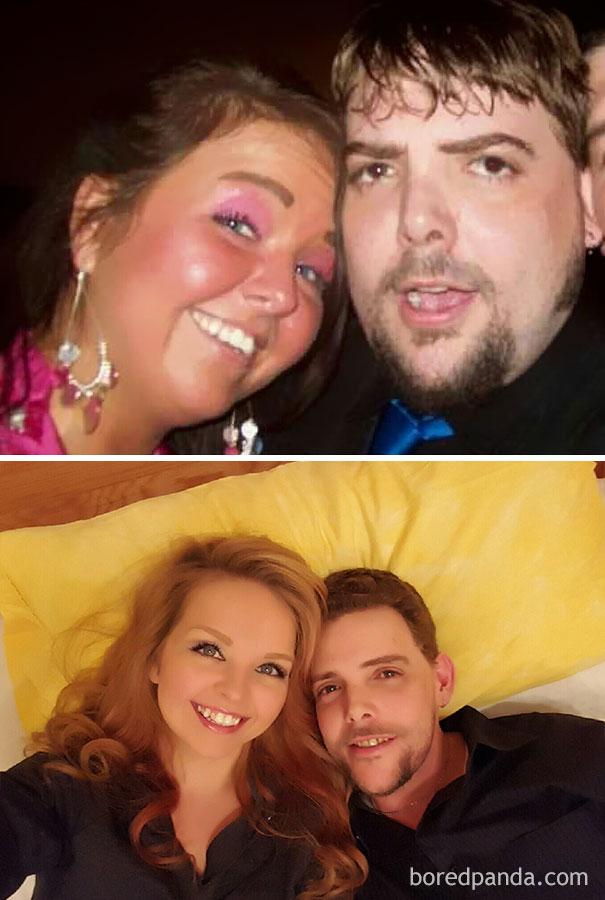 antes y despues de gente que dejo de beber alcohol 2