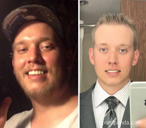 antes y despues de gente que dejo de beber alcohol 9