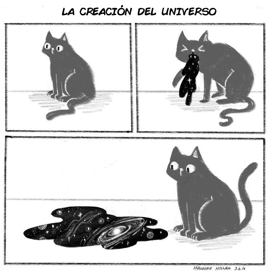 comics de gatos de Hannah Hillam 14