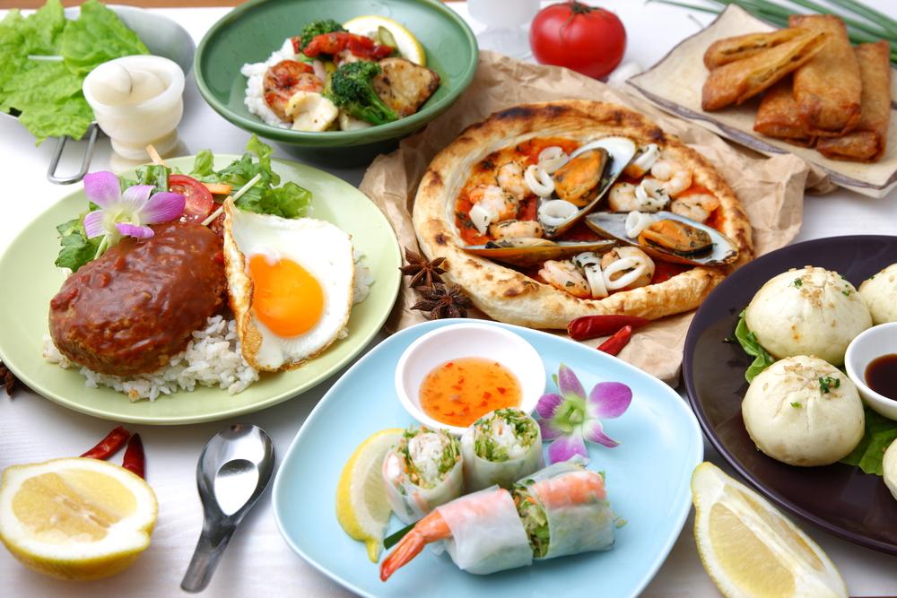 comidas del mundo