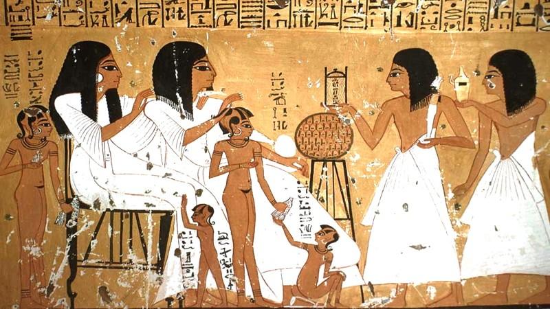 costumbres extranas de los antiguos egipcios 1