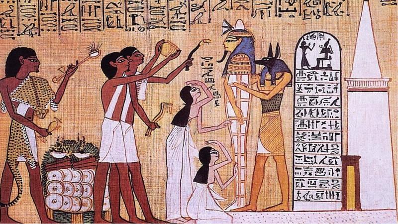 costumbres extranas de los antiguos egipcios 6