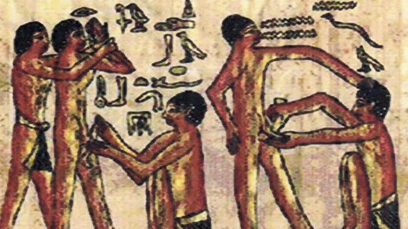 costumbres extranas de los antiguos egipcios 8