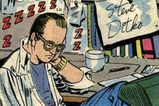 ditko-self-portrait