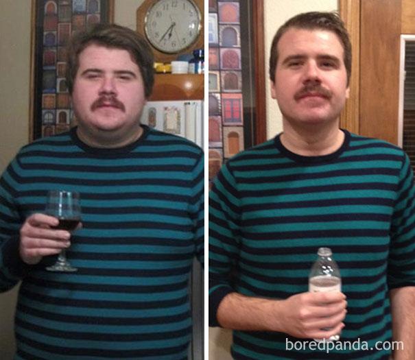 el antes y despues de personas que dejaron el alcohol 10