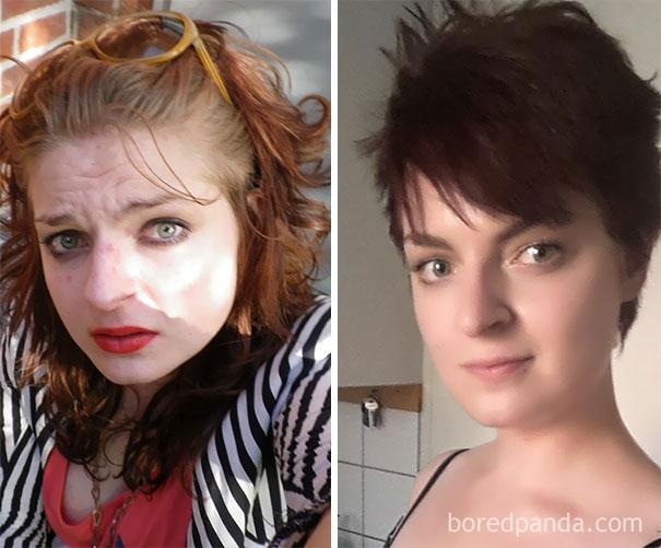 el antes y despues de personas que dejaron el alcohol 14