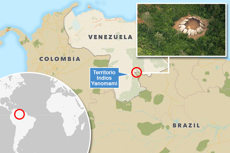 fotos de una tribu aislada del amazonas 5