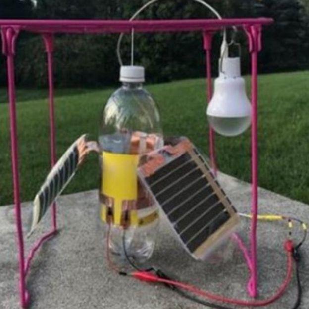 Uno de los primeros prototipos -
