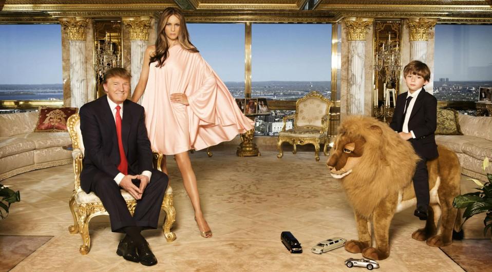 las casa gigantescas de Donald Trump 1