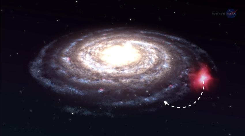 Esta es la trayectoria de la nube de Smith / ScienceAtNASA