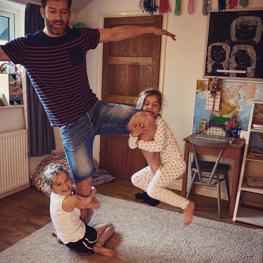 padre 4 hijas 7