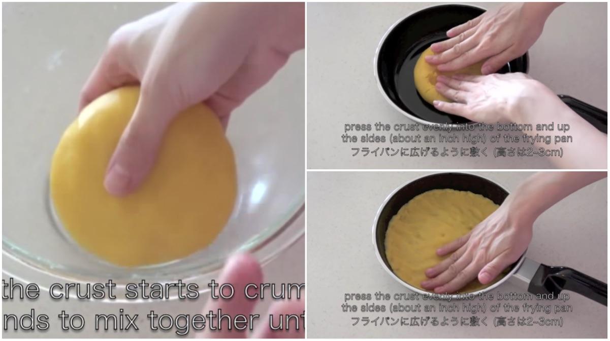 tarta queso sarten 6