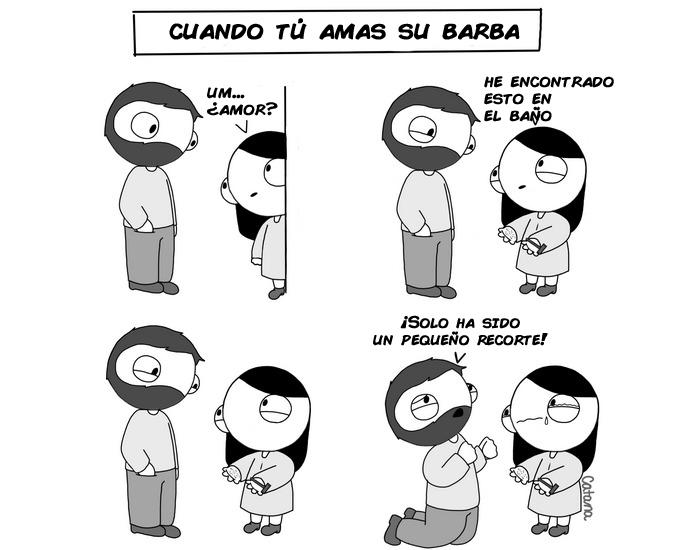 comics de catana sobre su relacion con su novio 10