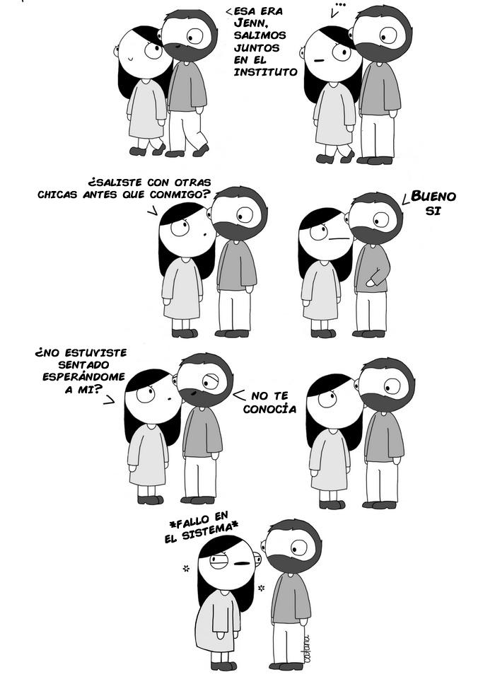comics de catana sobre su relacion con su novio 11