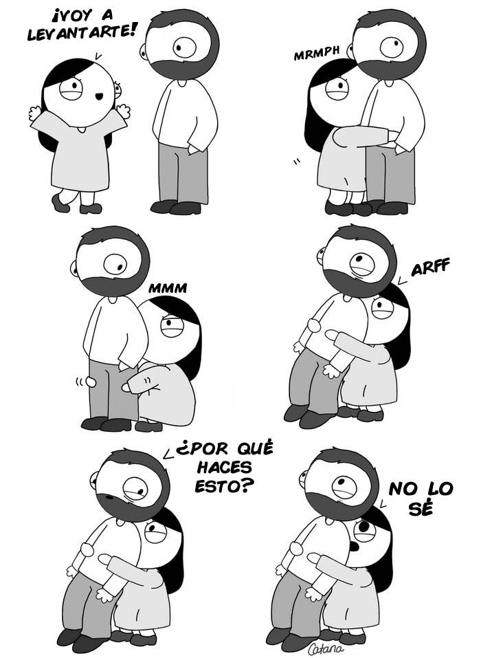 comics de catana sobre su relacion con su novio 4