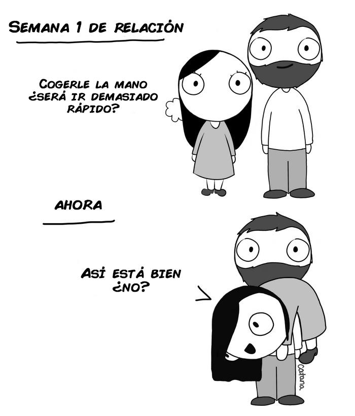 comics de catana sobre su relacion con su novio 8