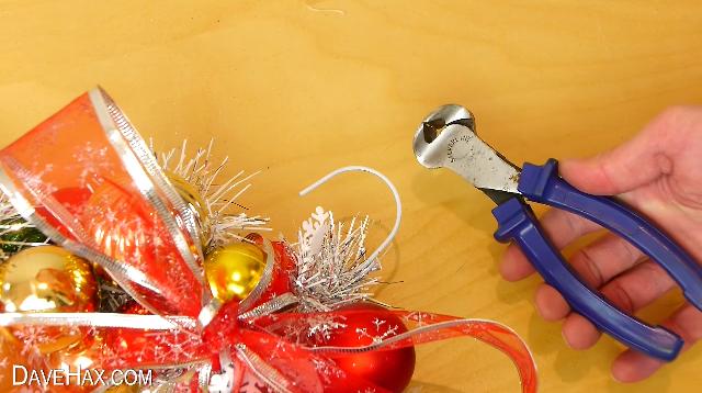 como hacer tu propia guirnalda de navidad 10