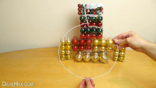como hacer tu propia guirnalda de navidad 3