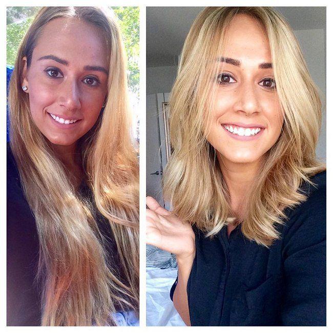 Antes y despues en cortes de pelo
