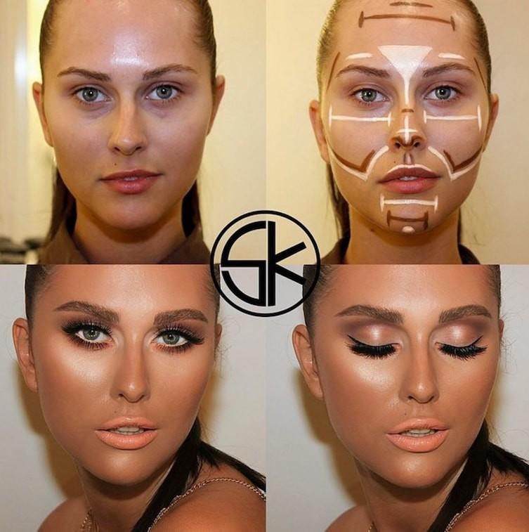 countoring make up 13